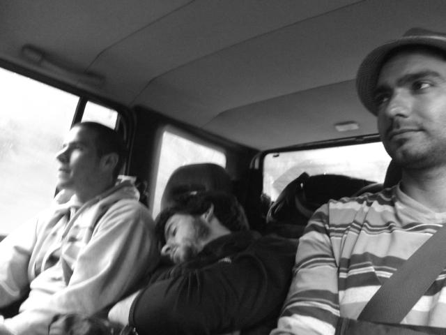 Recargando sueños, camino a Kaikoura, junto al otro cumpleañero Ale Infante